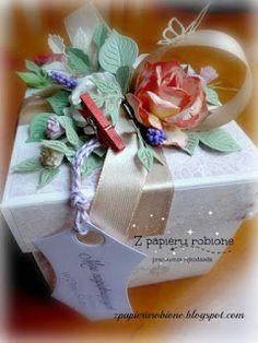pudełko z okazji ślubu