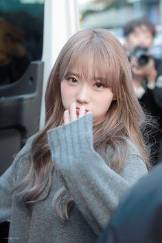 Asian Cute, Beautiful Asian Girls, Pink Ash Hair, Kpop Girl Groups, Kpop Girls, Wjsn Luda, Fandom, Cosmic Girls, Korean Beauty