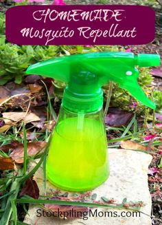 How To Make Homemade Mosquito Repellant