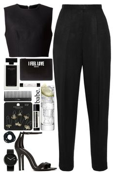 """""""Untitled #63"""" by the-last-of-vogue ❤ liked on Polyvore featuring The Row, Alexander Wang, Shoe Cult, Topshop, Narciso Rodriguez, Sephora Collection, Givenchy, LSA International, Alessi and philosophy"""