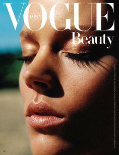 Freja Beha for Vogue Nippon Beauty (source)