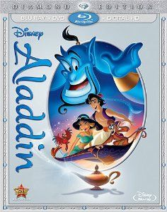 [$20] Aladdin Blu Ray with Digital Copy.