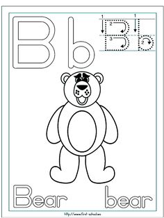 Bear Coloring Page Baybear Pinterest Bears Teddy bear