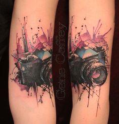 Camera by Gene Coffey : Tattoos yes like this!!