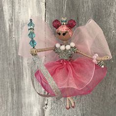 79fdfa7eb40 Excited to share the latest addition to my  etsy shop  Pink Flower Fairy  Christmas Ornament! Hand made flower fairyl!  fairydoll  flowerfairydoll    ...
