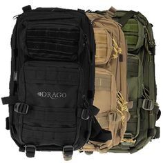 Drago Gear Tracker Backpack. DSG Arms - Defense Solutions Group, inc.