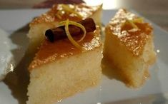 Greek Cooking, Dessert Recipes, Desserts, Cheesecake, Food And Drink, Pudding, Snacks, Vegan, Sweet