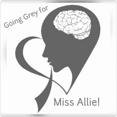 Going Grey for Allie to raise awareness for brain cancer