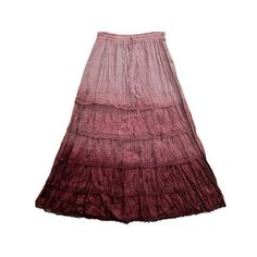 "Amazon.com: Womens Cotton Skirt Bohemian Gypsy Old Rose Long Maxi Skirts 38"": Clothing$24.95"