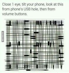 Close 1 Eye Tilt Your Phone Look At This From Phon. ~ Memes curates only the best funny online content. Funny Jokes, Hilarious, All Meme, Tandem, Looks Cool, Cool Stuff, Random Stuff, Random Things, Mind Blown