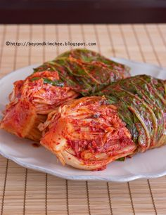 step by step tutorials on how to make authentic Korean cabbage kimchi, part 3