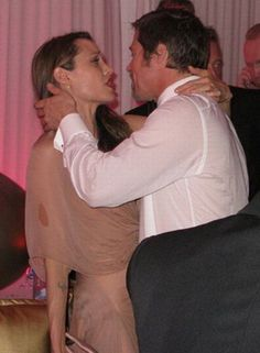 The worst drunk celebs ever. Brad & Angelina