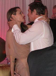 The worst drunk celebs ever. Brad & Angelina