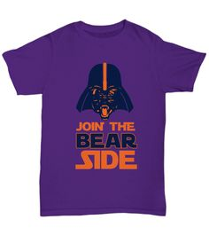 Join the Bear Side Chicago Football T-Shirt
