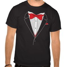 For casual dress-up. The Tuxedo T-Shirt! Wear to your brother's wedding! More funny shirts@ http://www.zazzle.com/tshirts?rf=238308729910790362