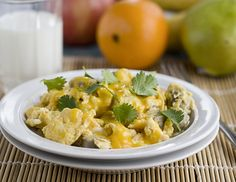 Southwest Scramble is a low-carb and spicy brinner favorite. #JonesDairyFarm