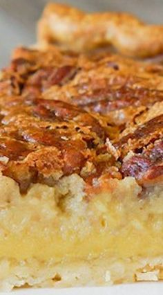 Cream of Coconut Pecan Pie ~ give your pecan pie a little twist by adding cream of coconut. The result is AMAZING! Your pie will be extra creamy with a light hint of coconut. It's sure to be your new, favorite pecan pie recipe! Pecan Recipes, Coconut Recipes, Sweet Recipes, Pie Recipes, Just Desserts, Delicious Desserts, Yummy Food, Dessert Crepes, Gastronomia