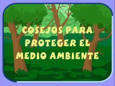 APRENDE CON PIPO: Consejos para proteger el medio ambiente