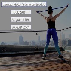 Email Ina@chaisefitness.com to RSVP for your #JamesHotel rooftop classes. #NYCview #nycevents #fitnessevents #August #July #summer #soho #fitness #workout #buns #fitbod #fitpro #sweatlife #health