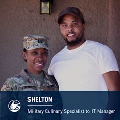 Shelton's story is a similar tale for many veterans today. Many people overlook the value of military skills because of the stigma surrounding veterans.  But sponsored training and employment programs like those in El Paso are helping veterans like Shelton translate their valuable military skills into valued career skills. Watch the full video to learn more about his journey from a military career as a culinary specialist to a meaningful civilian career in IT.