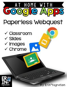 Go on a paperless webquest using Google Apps in social studies. Students can research their state then complete the digital ebook in Google Slides. Students use the in-app image search to find pictures of the flag, seal, bird and more! Instructions and a free template at the link!