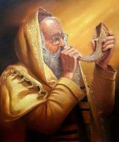rosh hashanah trumpet blasts