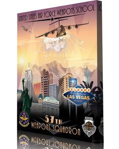 Share Squadron Posters for a 10% off coupon! Nellis AFB 57th Weapons Squadron C-17 #http://www.pinterest.com/squadronposters/