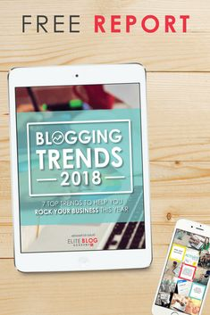 blogging trends of 2018 -- what to expect