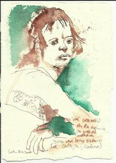 "Saatchi Art Artist Susanne Haun; Drawing, ""Drawing Diary 2008"" #art"