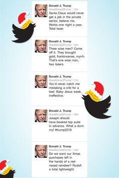 A Sneak Peak at Donald Trump's Christmas Twitter Tirade | Vanity Fair