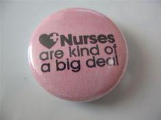 nurses should give these out to the patients!! What a statement  that would be!