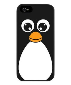 This Cute Cartoon Penguin Case for iPhone 5/5s is perfect! #zulilyfinds