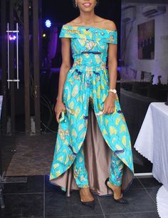 African clothing African print jumpsuit by CoCoCremeCouturier