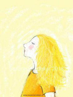 Yellow! #illustration #digitalart #childrensillustration