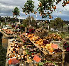 Rustic wineyard wedding