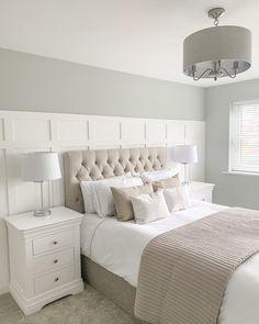 Room Ideas Bedroom, Bedroom Colors, Home Decor Bedroom, Minimal Bedroom, Luxurious Bedrooms, Neutral Bedrooms, New Room, Home Decor Inspiration, Interior Design
