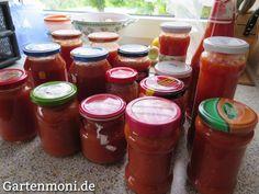 Tomaten als Wintervorrat einkochen