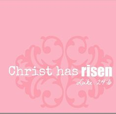 Christ Has Risen...