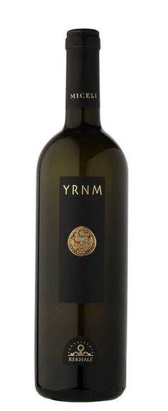 Vino YRNM bianco Miceli Sicilia D.O.C. 2013 cl 75