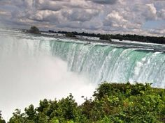 Niagara Falls The biggest water volume fall
