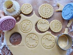 Cookie Stamp, Cookies, Sweet, Recipes, Food, Crack Crackers, Candy, Biscuits, Cookie Recipes