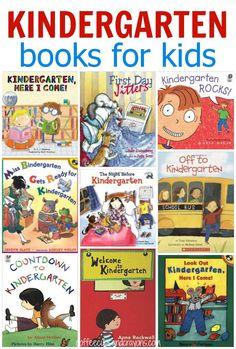 Kids Books about Starting Kindergarten!