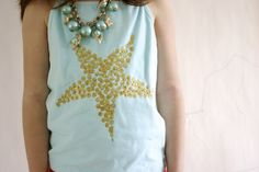 Starfish tank. Super cute.