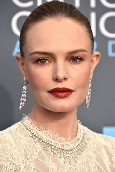 Chanel Makeup, Beauty Makeup, Hair Makeup, Prom Makeup, Kate Bosworth Husband, Red Carpet Makeup, Metallic Makeup, Provocateur, Celebrity Beauty