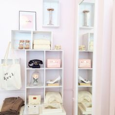 Displays in the shop #cubies #display #merchandising #boutique