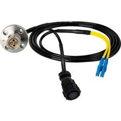 Hybrid Fiber Systems 35' Lemo FMW to Duplex LC Fiber & 8-Pin Amp Power Inline Breakout Cable
