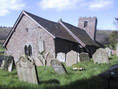 Llanthony church in Wales