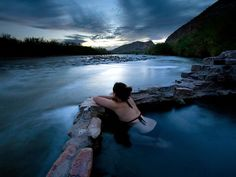 A natural hot spring in Big Bend National Park, Texas. By Ian Shive, Aurora