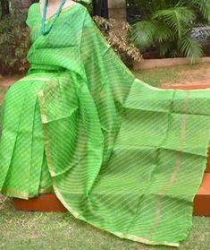 Kota Silk Saree, Silk Sarees, Digital Camera, Plant Leaves, Hand Weaving, Tie Dye, Beautiful, Color