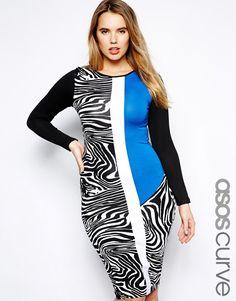Discount Plus Size Leopard Print Bodycon Dress | 2017 Plus Size